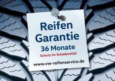 Volkswagen Reifen Service